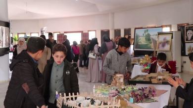 Photo of معرض في زليتن للفنون التشكيلية