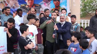 مظاهرة في درنة تؤيد عمليات الجيش الوطني في طرابلس