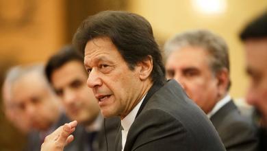 رئيس الوزراء الباكستني عمران خان