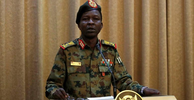 الناطق الرسمي باسم المجلس العسكري الانتقالي السوداني الفريق شمس الدين كباشي