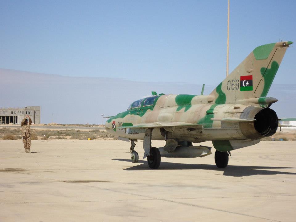 سلاح الجو الليبي - ارشيفية