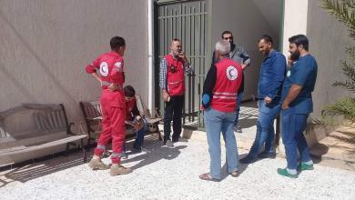 Photo of الهلال يفتتح مركزا لإيواء نازحي طريق المطار