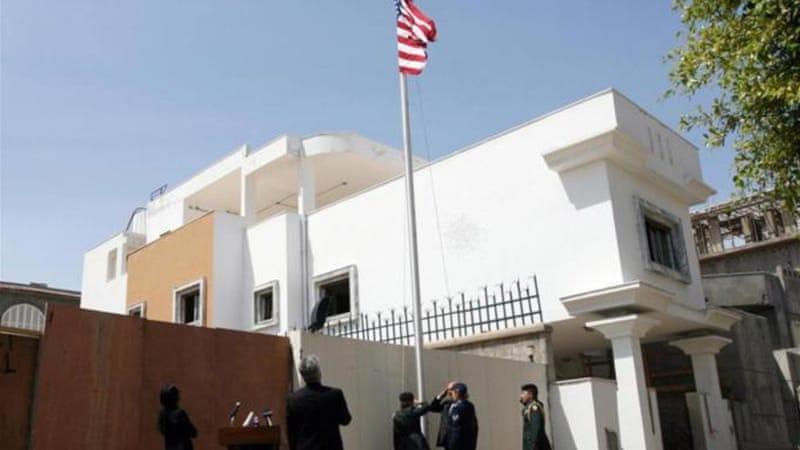 مقر السفارة الأمريكية في ليبيا- طرابلس- الصورة: إرشيفية