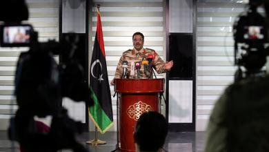 صورة المسماري: مقاتلون أجانب مع قوات الوفاق