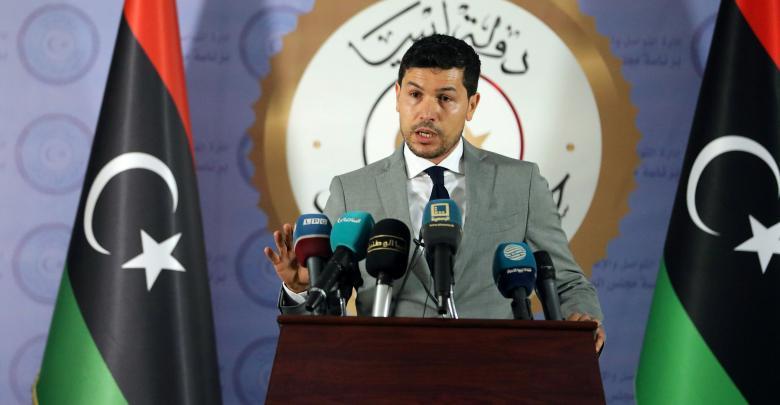 الناطق الرسمي لحكومة الوفاق الوطني مهند يونس