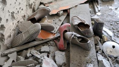 من يُنقذ أهالي منطقة قصر بن غشير؟ الصورة: أبوسليم، طرابلس- رويترز