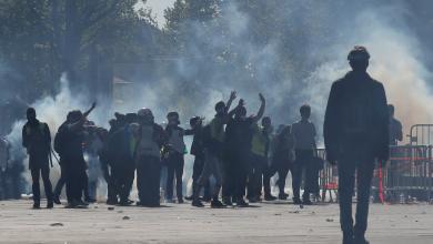 احتجاجات السترات الصفراء - باريس
