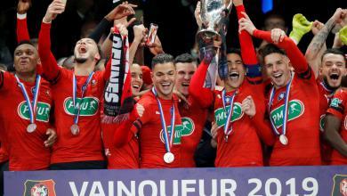 Photo of رين يتوج بكأس فرنسا على حساب باريس سان جيرمان