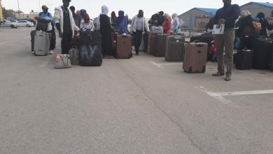 صورة بنغازي.. ترحيل 126 مهاجرا عبر مطار بنينا