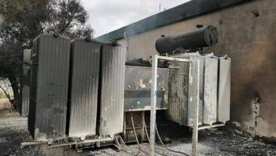 Photo of احتراق محولات بمحطة كهرباء الهيرة