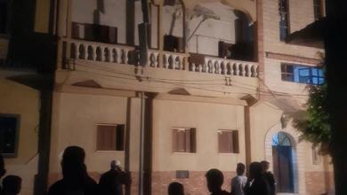 """صورة """"هلال طرابلس"""" يغيث من تعرضوا للقذائف"""