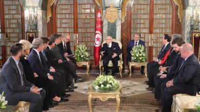 أوضاع ليبيا تجمع السبسي مع أعضاء الكونغرس الأمريكي