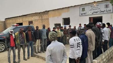 """صورة """"أجانب"""" يتجولون في """"ليبيا"""" من دون """"هويات"""""""