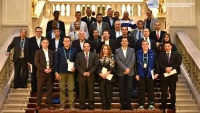 صورة مشاركة ليبية في اجتماع الاتحاد الدولي لكرة الطاولة