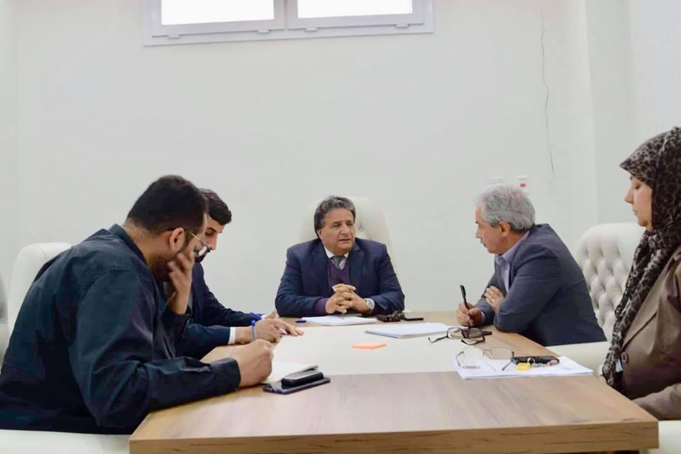 وزير صحة المؤقتة سعد عقوب