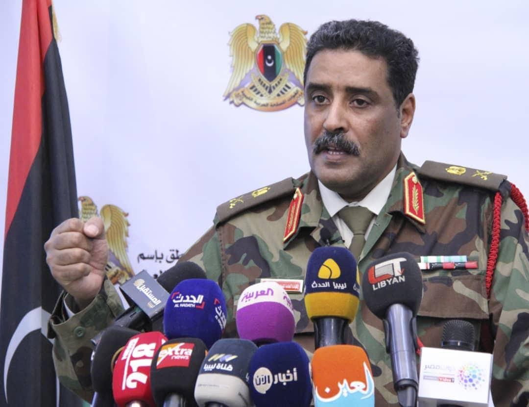 الناطق الرسمي باسم الجيش الوطني اللواء أحمد المسماري