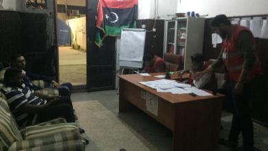 الهلال الأحمر طرابلس يُسابق الزمن لإنقاذ المدنيين
