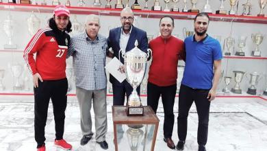 Photo of إدارة الاتحاد تكرم النعاس مدرب فريق كرة الصالات