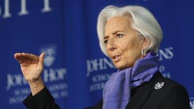 المديرة العامة لصندوق النقد الدولي - كريستين لاجارد