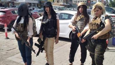 Photo of فتيات البابجي يتظاهرن وسط بغداد