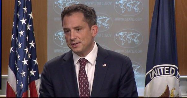 المتحدث باسم وزارة الخارجية الأميركية روبرت بالادينو
