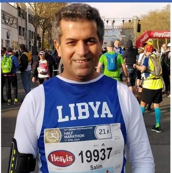 العدّاء الليبي سالم السمح