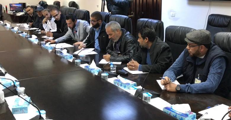اجتماع الاتحاد العام لعمال قطاع النفط والغاز