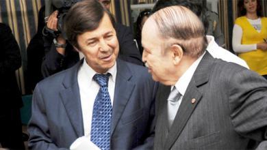 الرئيس الجزائري عبدالعزيز بوتفليقة وشقيقه سعيد بوتفليقة