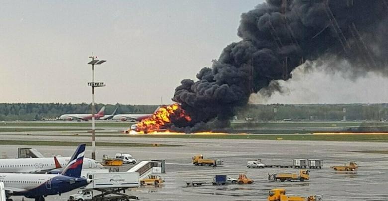 تحطم طائرة في روسيا