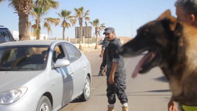 """Photo of """"الكلاب البوليسية"""" تساند الأمن في راس لانوف"""