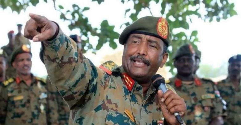 رئيس المجلس العسكري الانتقالي في السودان الفريق عبد الفتاح البرهان