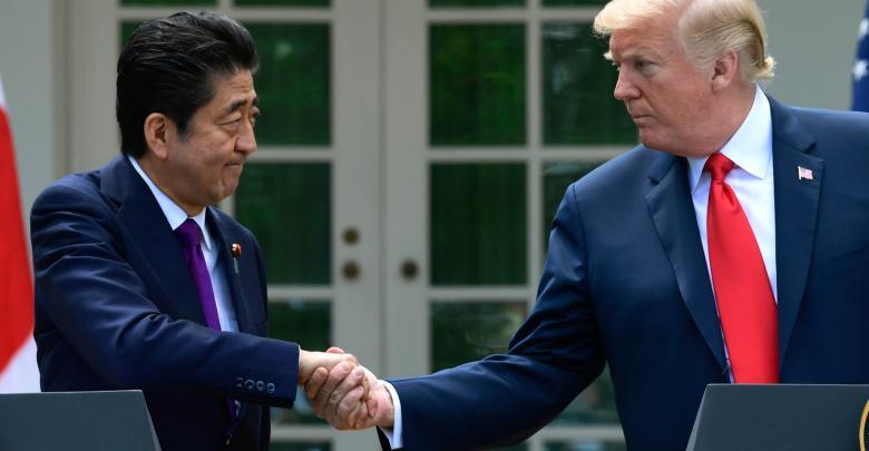 زيارة ترامب إلى اليابان