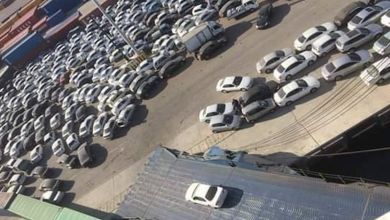 Photo of ميناء مصراتة يستقبل شُحنة سيارات كورية