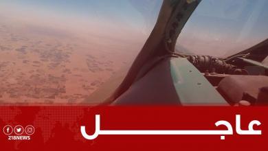 Photo of سلاح الجو يقصف تمركزات المجموعات المسلحة في ضواحي مدينة سرت