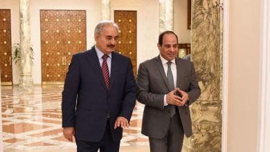 "Photo of السيسي لحفتر: الجيش يستعيد ""الشرعية"" و""الحلول السياسية"""
