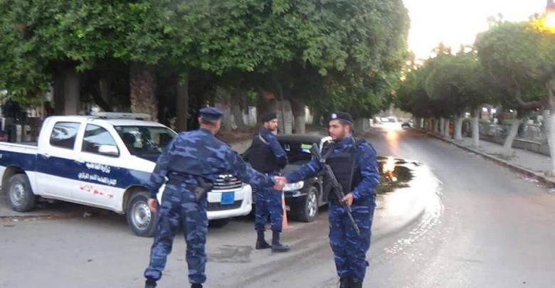 متابعة سير العمل الأمني بطرابلس