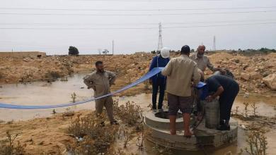 صورة مياه النهر تعود إلى بنغازي