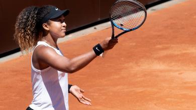 صورة أوساكا تبلغ ربع نهائي بطولة روما