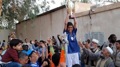 صورة هون المركزية يفوز بدوري المدارس