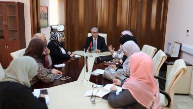 Photo of باشاغا يبحث تطورات طرابلس مع المجتمع المدني