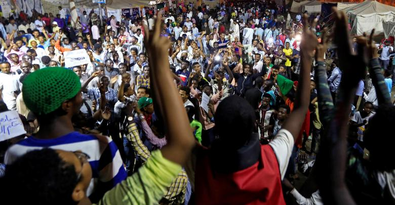 إضراب السودانيين - الخرطوم