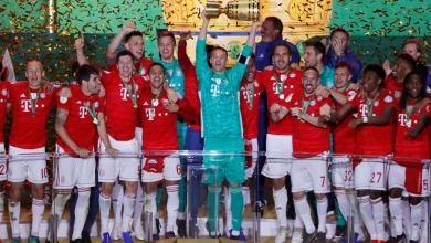 صورة بايرن ميونخ يحصد كأس ألمانيا