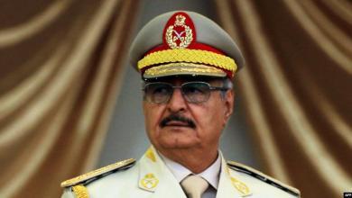 المشير خليفة حفتر: ليبيا لن تنقسم وأنا على قيد الحياة