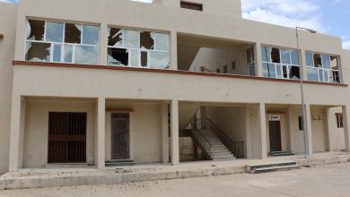 "Photo of ""دفاع الوفاق"": قصف جوي على الكلية العسكرية بالهضبة"