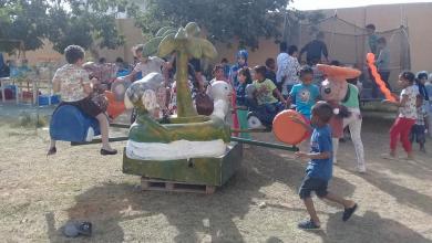 Photo of يوم ترفيهي للتلاميذ والطلبة النازحين في أبوسليم