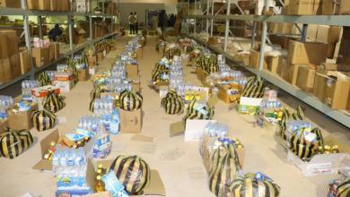 """Photo of مساعدات """"غذائية ونقدية"""" للنازحين في بني وليد"""