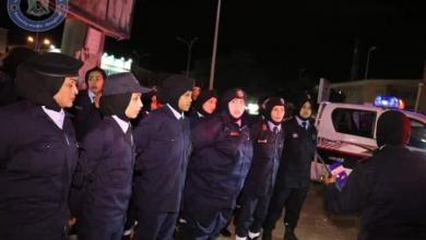 Photo of الشرطة النسائية تعزز الأمن في بنغازي