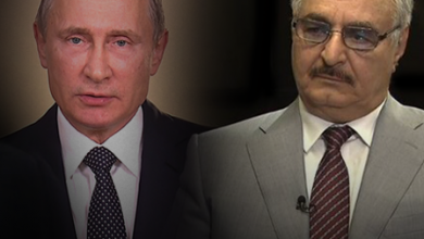 "Photo of أول لقاء بين ""حفتر"" و""بوتين"" في موسكو"