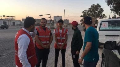 Photo of الهلال الأحمر يُجري جولة لتفقد أحوال نازحي طرابلس