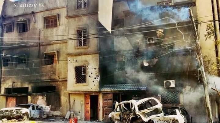 منظمة حقوقية تستنكر استهداف المدنيين في طرابلس